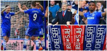 El Chelsea humilla al Arsenal en el partido 1.000 de Wenger
