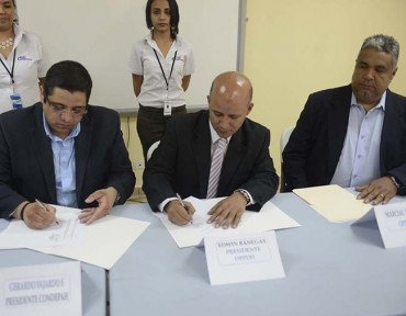 OPPDH y Condepah firman convenio