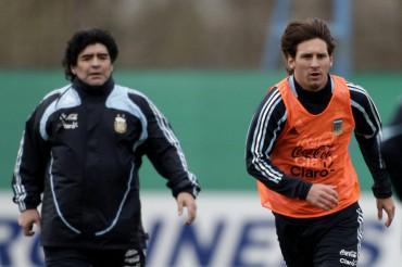 Diego Armando Maradona se imagina a Leo Messi en el Bayern de Munich