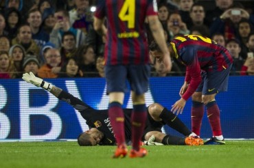 El Barça sólo puede fichar a un portero de la Liga española