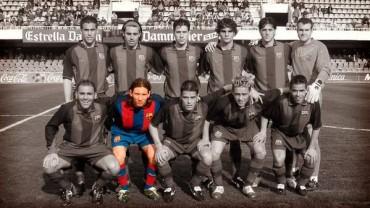 VIDEO: Leo Messi deubtó hace 10 años con el Barça B
