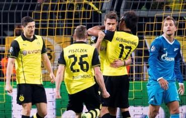El Dortmund pasa cojeando