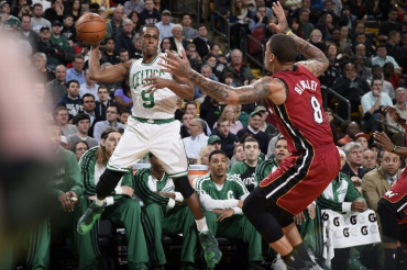 Rondo define el triunfo de los Celtics sobre los Heat