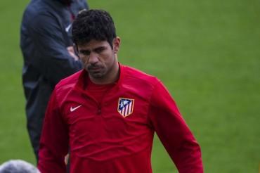 Diego Costa se retira lesionado del entrenamiento