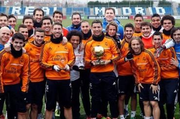Irónica respuesta en el vestuario del Madrid a Mourinho