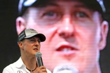 Schumacher da muestras de recuperación
