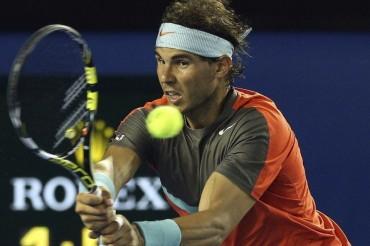 Nadal, por el lado del cuadro de Federer, Murray y Wawrinka