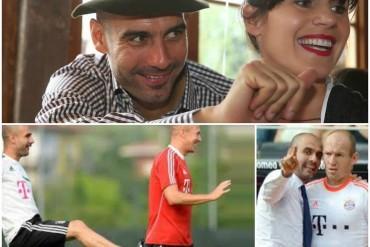 """Pep Guardiola: """"Mi mujer Cristina es más complicada que Robben"""""""