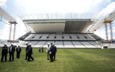 Cinco estadios sin inaugurar A 100 días del Mundial 2014