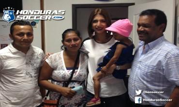 Motagua apoyará a la menor de cinco años Diana Stephany Gómez