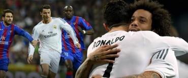 Real Madrid líder solitario en la Liga Española