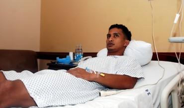Mario Berrios operado de los Ligamentos