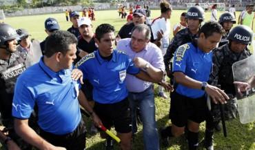 Máxima seguridad para árbitros