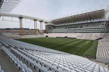 Arena Sao Paulo casi al cien