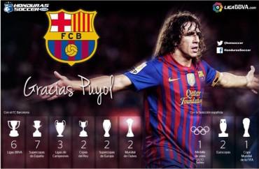 Carles Puyol abandonará el FC Barcelona al final de la presente temporada