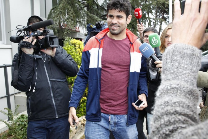 """Diego Costa no tiene rotura: """"Yo llego a todo"""""""