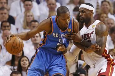 LeBron tira la toalla y admite que Durant debe ser MVP