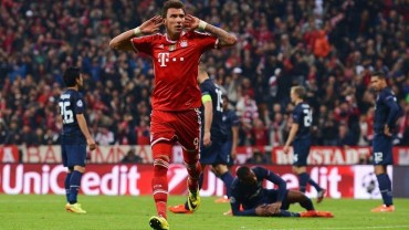 Bayern venció y eliminó a Man.Utd de la Champions