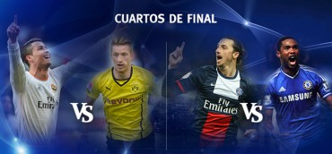 Dortmund y Chelsea sueñan con remontada
