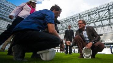 FIFA visita al Arena da Baixada