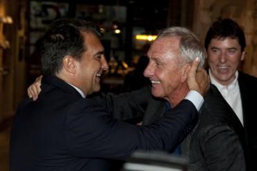"""Cruyff: """"El Tata hace lo que puede, pero en el Barça no manda el técnico"""""""