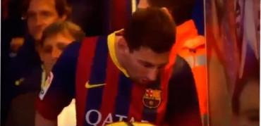 Leo Messi vomitó en el túnel de vestuarios antes del Barça-Athletic