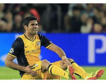 Diego Costa se perdería choque ante Barcelona