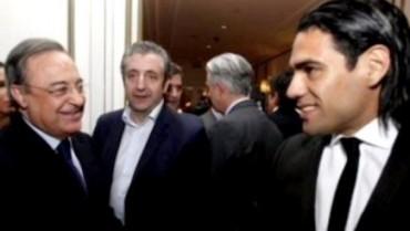 Florentino, Falcao y Txiki cenan juntos en Madrid