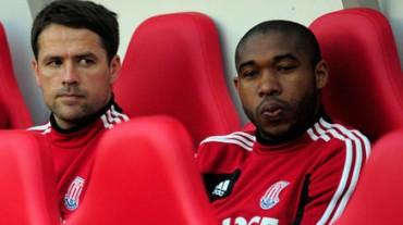 Wilson Palacios no miro acción con el Stoke City