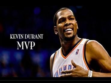 Kevin Durant gana su primer MVP