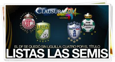 Toluca y Pachuca completan el cuadro de semifinalistas