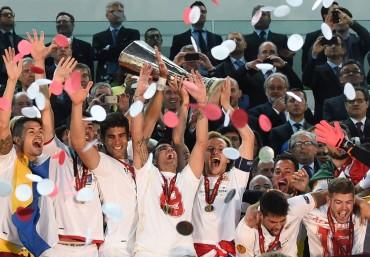 Sevilla es el campeón de la Europa League