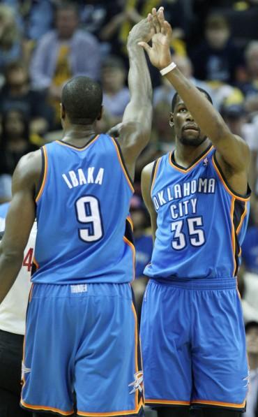 Durant y Westbrook barren a Memphis y habrá séptimo duelo