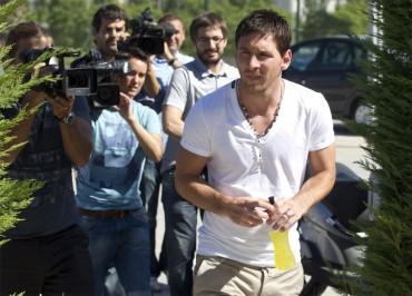 """Messi: """"Se han dicho muchas barbaridades sobre mi futuro"""""""