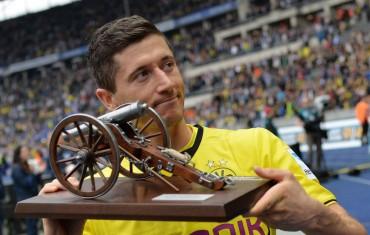 Lewandowski llega al Bayern como máximo goleador