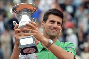 El premio de Djokovic en Roma, para las inundaciones