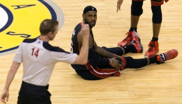 LeBron James completó su peor partido en unos playoffs