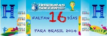 Faltan 16 Días para el Mundia Brasil 2014