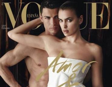 Cristiano Ronaldo se desnuda con su novia
