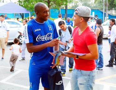 """Jerry Palacios: """"Deseo hacer un gol en el mundial"""""""