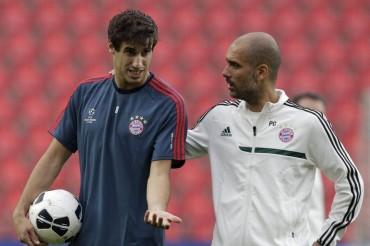 Javi Martínez estaría pensando en dejar el Bayern de Múnich