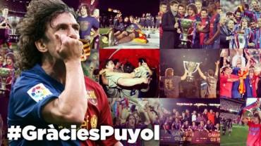 """Puyol se despide: """"Lo he dado todo por el Barça"""""""