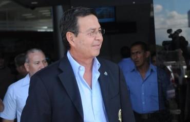 Callejas se va desde el 8 de junio a Brasil