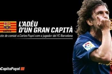 El Barça se despedirá de Puyol el jueves 15 de Mayo