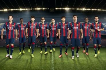 La nueva equipación del Barcelona