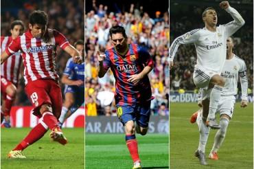 Las opciones de Atlético, Barça y Madrid de ganar la Liga