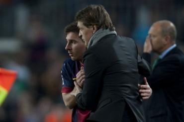 """Messi: """"Quiero ganar la Liga para dedicársela a Tito"""""""