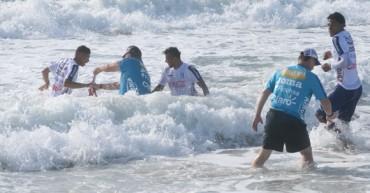 A Pablo Montes le cayó bien el trabajo de playa