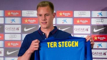 Barcelona presenta a Marc Andre Ter Stegen