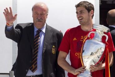 """Del Bosque: """"Es bueno para el Real Madrid conservar a Casillas"""""""